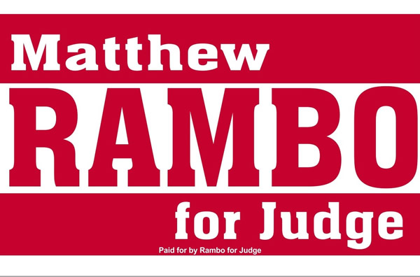 Matthew Rambo for Geauga County Ohio Common Pleas Judge